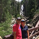 Beautiful day at the Fish Creek Falls!