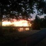 Beautiful sunset and nice walking trail!