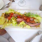 Beef-strips with salad - Outstandig -