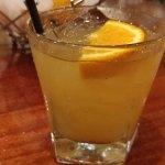 Toasted pineapple margarita