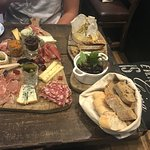 Gastroboard and Baked Camembert