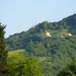 Agriturismo Il Faggio visto dalla Frazione Serradica