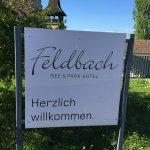 Eine Herzliches Willkommen im See & Parkhotel Feldbach in Steckborn