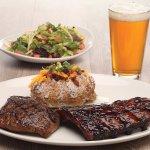 Combo Platter - Ribs & Steak