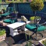 Beautiful roof top garden/sitting area