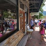 Veranda Cafe in Black Mountain, NC
