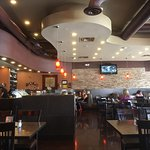 Love the Red Oak Grill for authentic and healthy Mediterranean cuisine with an American flair.