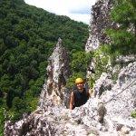 Mid point of Via Ferrata