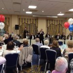Gala Dinner in the Woodland Suite with Tony Jacobs Tuxedo Jazz Orchestra