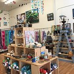 Handcrafted gifts from the south.  Pottery, yarn, paintings, mobiles, jewelry and more!