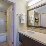 Spacious in-suite bathrooms