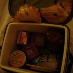 Pre-select night before and your Breakfast is delivered to room in cool bag, great idea. Ample