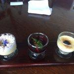 Dessert (the sweat rice is a tipical peruvian dessert)