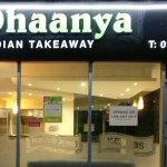 Dhaanya Indian takeaway