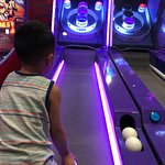 skeeball at Circus Circus