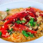 ESPECIALIDADE: Arroz de camarão carabineiro e amêijoas
