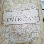 This complimentary book has lots of great old pictures and recipes of NOLA