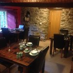 Breakfast and reading room - help yourself to tea & coffee too.