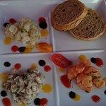 marinade de poissons divers