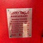 Foto de Good Times Restaurant