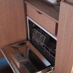 Kitchenette - lave vaiselle