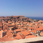 Dubrovnik from the walls.