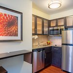 All of our rooms include a fully equipped kitchen (stove top included - ovens are not)