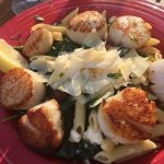 Greek scallops