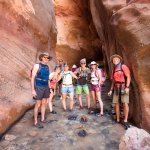 Beautiful slot canyon