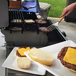 make your own burger for 1017 memorial weekend