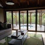 Bayethe Lodge - Vista do quarto