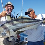 Had an awesome day of fishing with Sushi Time! They're the best in Cabo!