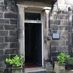 Main front door.