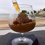 mousse cognac-noisette