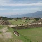 Maravillosa zona arqueológica en Oaxaca capital.