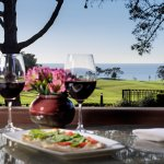 A.R. Valentien Patio - The Lodge at Torrey Pines