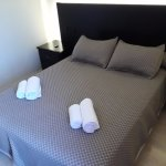 la cama doble