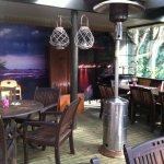 Cafe deck interior
