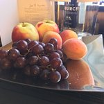 Complimentary fruit bowl