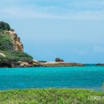 Beautiful turquoise water at Playa Sucia