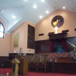 Inside the church where Martin Luther King preached