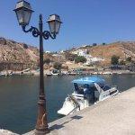 Lovely hotel overlooking Port Castello.