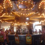 The famous carousel bar