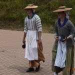 Farm Girls in Period Costume