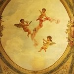 Beautiful Fresco on the Ceiling