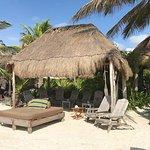 a private cabana