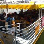 Boarding the Water Taxi Miami