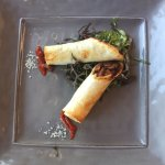 Duck taquitos. Great appetizer. Wanted more!