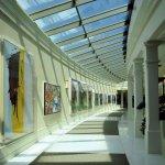 Walkway to Annex - stunning modern art