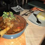 Lamb Shank! with rice and eggplant !!